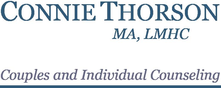 CONNIE THORSON, MA, LMHC